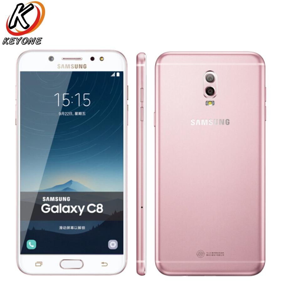 Nouveau Samsung GALAXY C8 C7100 LTE Mobile Téléphone 5.5 3 gb RAM 32 gb ROM Double Caméra Arrière 3000 mah Android Double SIM Téléphone Intelligent - 2