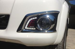 Car Styling LED DRL Daytime Running Light Super-bright Fog Lamp For Toyota Hilux Vigo 2012-2016 Car 12V Auto Running lights