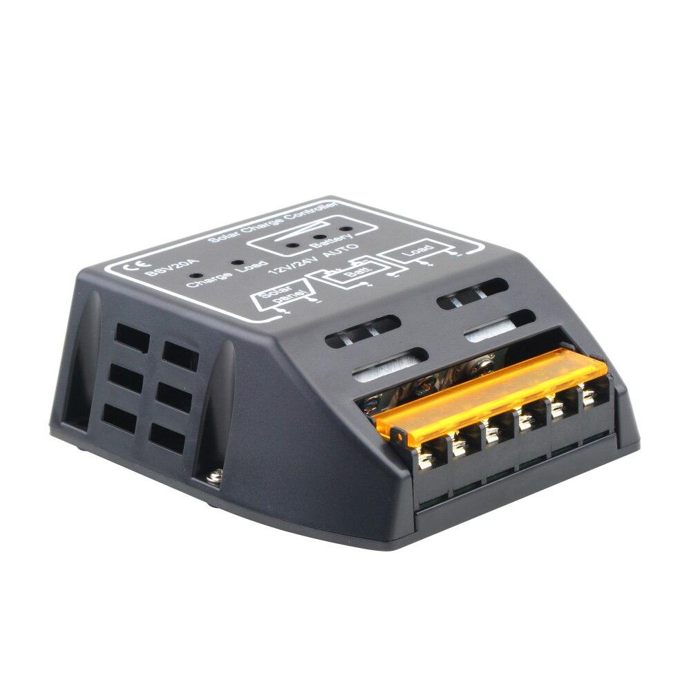 2017 Hot Mppt 20a 12v 24v Solar Panel Charge Controller