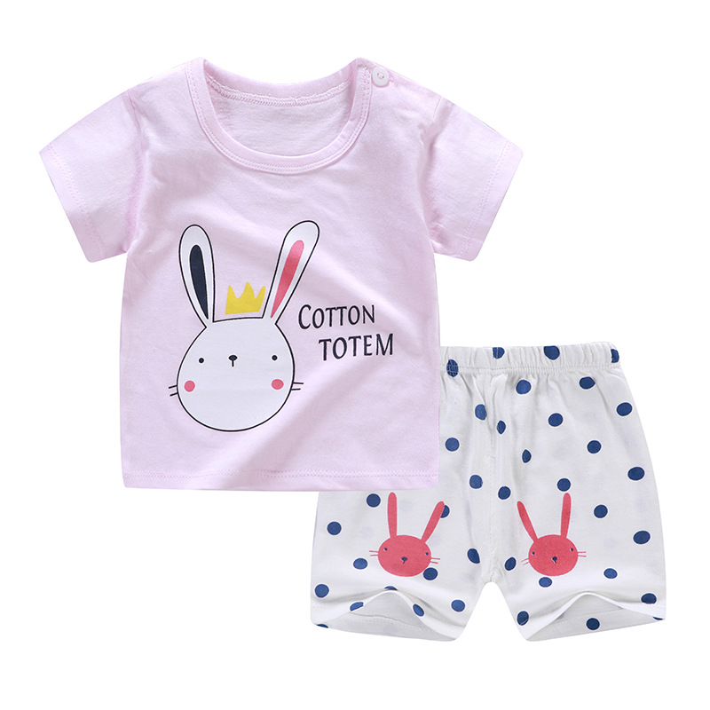 Rabbit Sample Summer season Most Well-liked Clothes Oufits For Child Boy And Child Lady New Born Child Units Clothes Units, Low-cost Clothes Units, Rabbit Sample Summer season Most Well-liked...
