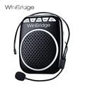Ultralight Portable Digital Sound Amplifier Microphone Loudspeaker Megaphone Audio Booster External Speaker With USB TF Girdle