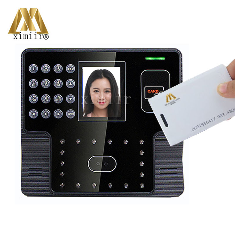 Biometric Time Attendance System Smart EM Card Reader Face Time Recorder Iface 101 Work Time Recorder Device