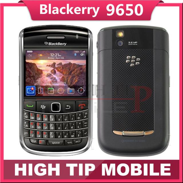 Abierto original blackberry bold 9650 teléfono celular 3g 3.2mp gps wifi freeshipping envío libre 1 año de garantía reformado