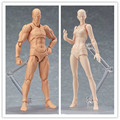 Figma archetype next: She Archetype NEXT He - Flesh color ver.  PVC Action Figure Resin Collection Model Toy Doll Gifts Cosplay