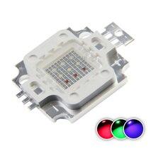 Высокая Мощность светодиодный чип 10 Вт COB светильник бусины 10 Вт RGB красного, зеленого и синего цвета диод поверхностного монтажа для сцены с...