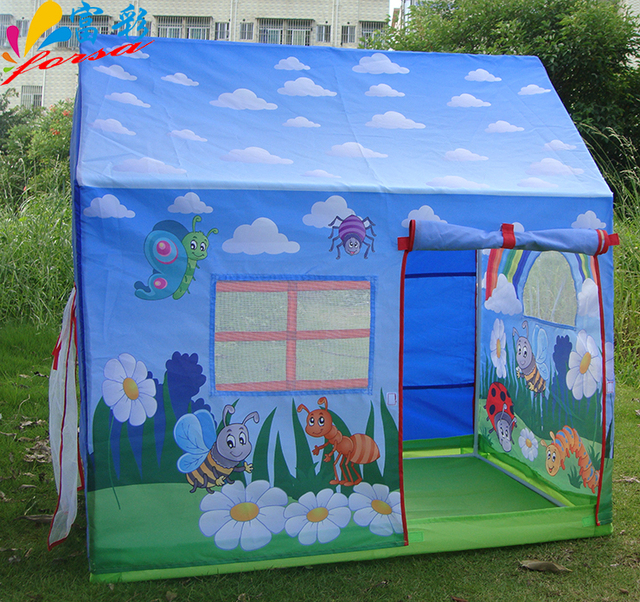 new Thickening Children Kids Play Tent toy game house Bread superman children tent game room : superman tent - memphite.com