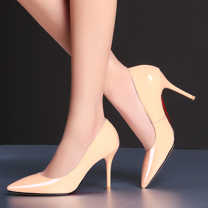 Nuevas botas cálidas de Invierno para mujer, botas de media pantorrilla, zapatos de mujer, zapatos de cuero Real, botas cortas para mujer - 6