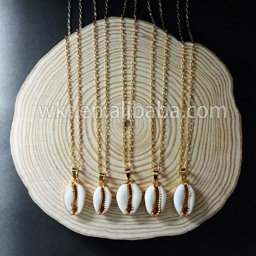 Купить женское ожерелье в виде ракушек ювелирное украшение натуральной