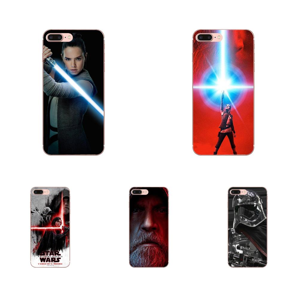 Soft New Style Unique The Last Jedi Wallpaper For Apple iPhone 4 4S 5 5C 5S SE 6 6S 7 8 Plus X XS Max XR image