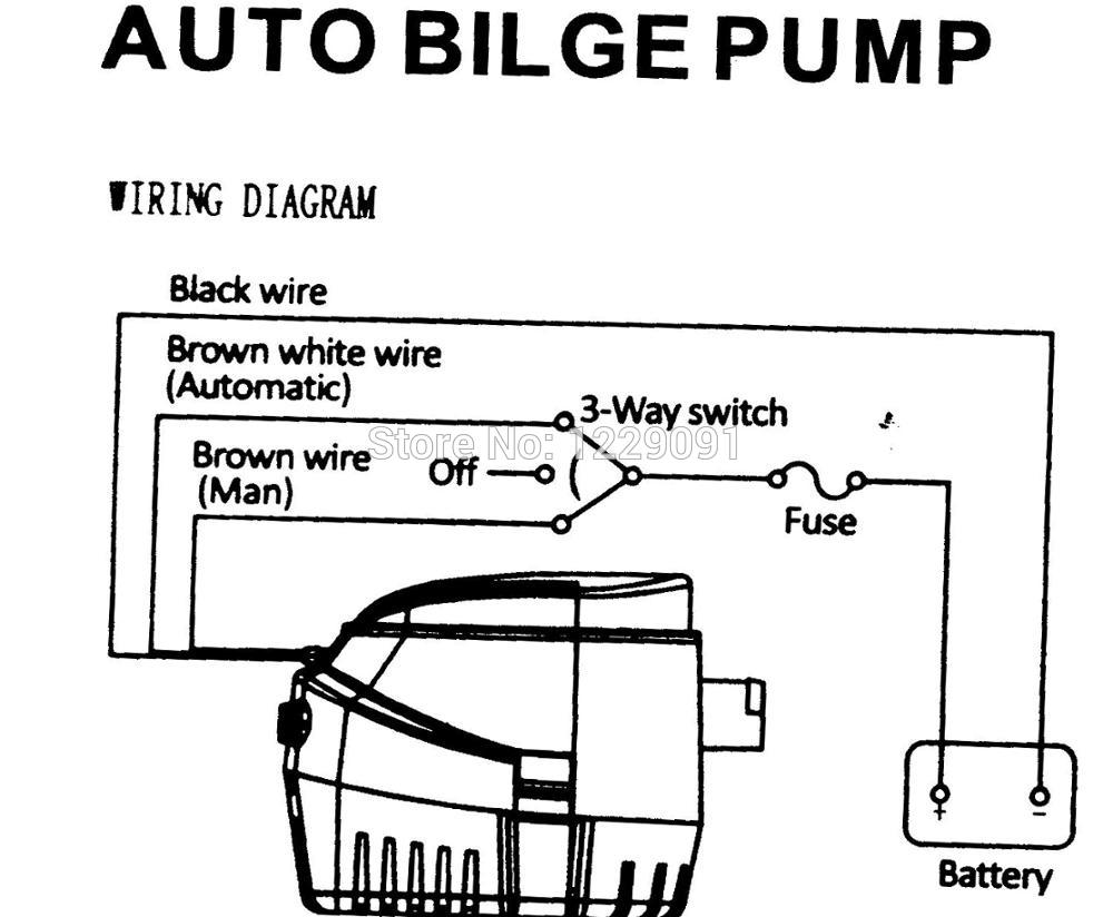 [SCHEMATICS_4UK]  Fully Auto Bilge Pump 1100GPH 750GPH 600GPH DC 12V 24v Electric Water Pump  For Aquario Submersible Seaplane Motor Home Houseboat|Pumps| - AliExpress | 12 Volt Bilge Pump Wiring Diagram Free Picture |  | www.aliexpress.com