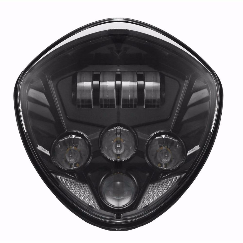 Promption! Headlight Kit Sepeda Motor LED - Cross Country Intensitas - Lampu mobil - Foto 2