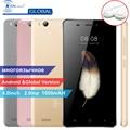 Original Kenxinda V5 Ultra Slim Android Mobile Cell Phone 4.0 Inch 8GB ROM Quad Core Dual SIM Cards Smartphones +Earphone