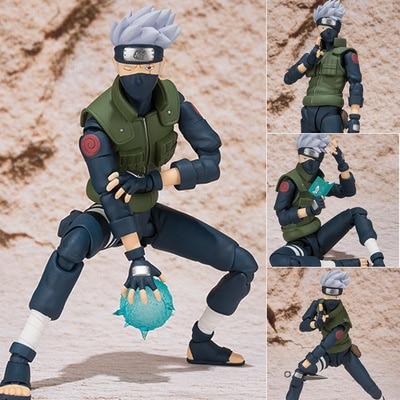 15cm Anime Naruto Sasuke Hatake Kakashi Collection Action Figure Toys