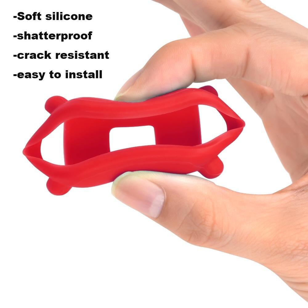 For Xiaomi Amazfit Bip Bit Lite Bracelet Strap Screen Film Protector Protective Case Silicone Watchband 7Pcs