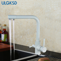 Ulgksd Multi Choices Mixer Kitchen Sink Faucet Tap Brass Drinking Water Kitchen Purified Water Faucet Water