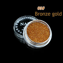 1 Box Bronze Gold 23 Color Glitter Eyeshadow Powder Pigment Mineral Spangle Smooth Makeup Cosmetic Set Waterproof Long-lasting(China)