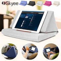 Multi Function Laptop Cushion Holder Colorful Lapdesk Tablet Stand Pillow Polyester Cutton PC Reading Bracket Pillow
