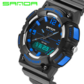 SANDA Brand LED Military Watch Men Fashion Casual Electronics Wristwatches Sports Watches for Men Relogio Masculino