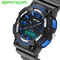 SANDA Marca Eletrônica LED Militar Assista Men Moda Casual relógios de Pulso Relógios Desportivos para Homens Relogio masculino