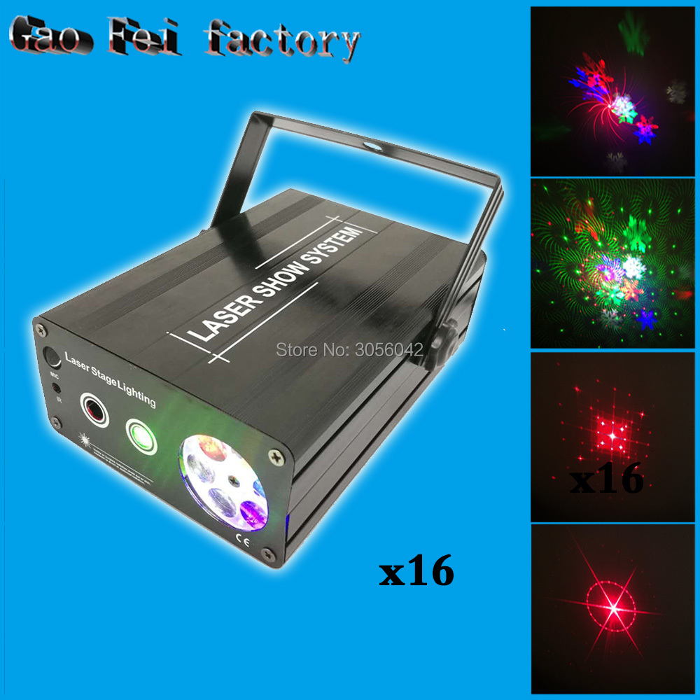 16pcs/lot Mini 2in1 Whirlwind R G Laser snowflake LED Projector Stage Disco DJ Club KTV jacques lemans liverpool moonphase 1 1901a
