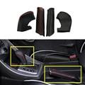 Para Hyundai Elantra 2012 2013 2014 2015 AT Ou MT Do Travão de mão tampa E Tampa do Deslocamento de Engrenagem Couro PU Acessórios Interior Do Carro 2 pcs