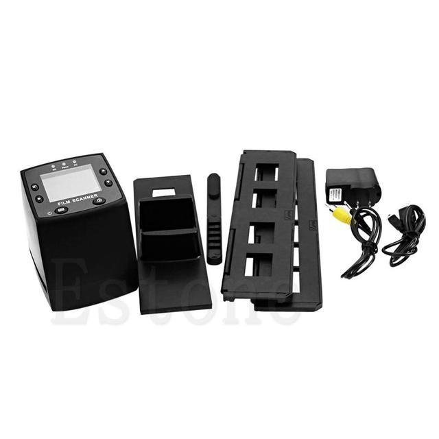 5MP 35mm Negative Film Slide Viewer Scanner USB Digital Color Photo Copier With (Only US Plug) Fast shipment