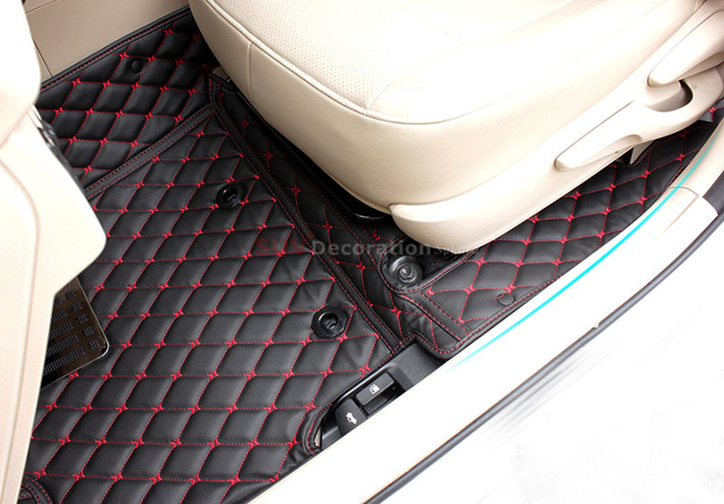 Image 5 - For  Toyota RAV4 XA40 2013 2014 2015 2016  2017 Accessories Interior Leather Carpets Cover Car Foot Mat Floor Pad 1set-in Interior Mouldings from Automobiles & Motorcycles