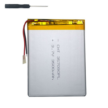 7 inch tablet universal battery pack 3.7v 3500mAh polymer lithium Battery for dexp ursus p380 +tool accessories screwdriver witblue new universal battery pack 3 7v 3000mah polymer lithium battery for 7 oysters t72hmi 3g irbis tz46 tz45 tz70 tablet