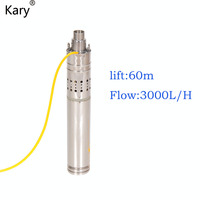 High Quality Water Pump 24 Volt Submersible Water Pump Agricultural Dc Well Water Pump With 60m