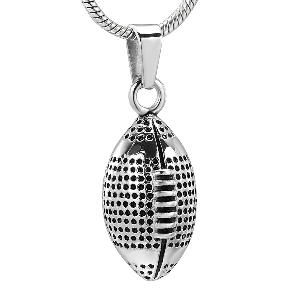 Stainless Steel Cremation Jewelry Urns Pendant Necklace For Ashes Gift 316L