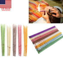 10pcs/Pack Ear Wax Removal Candle Cleaning Candles Healthy Care Hollow Coning Treatment Indiana Therapy Fragrance