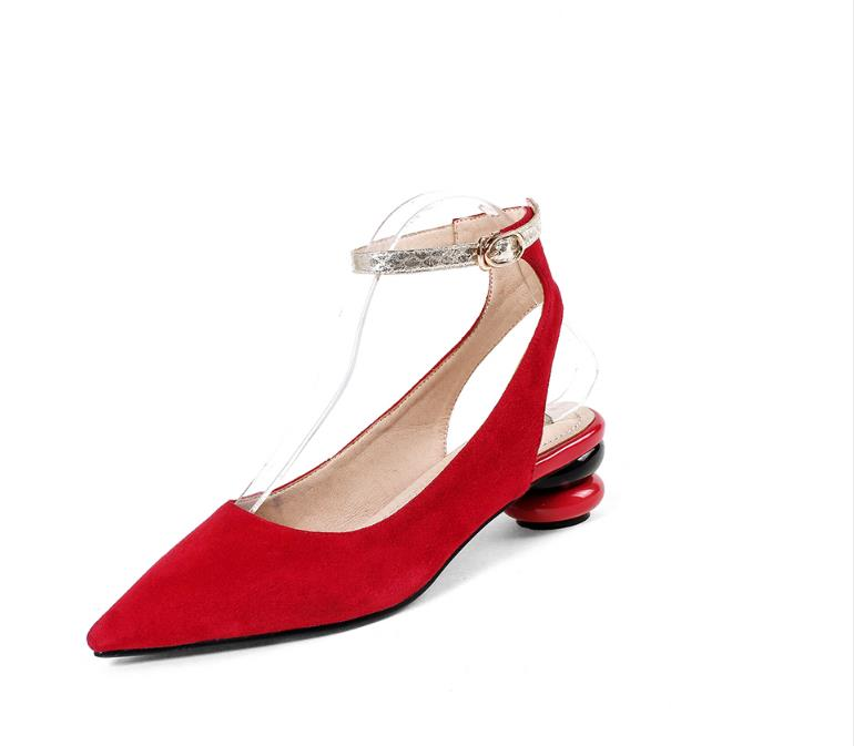 2018 Letní nové módní kotníkové popruhové pomůcky pro ženy - Dámské boty