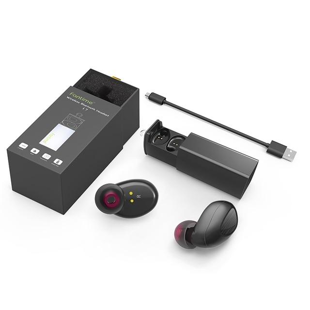 TWS Gemelos Verdadero mini Wireless stereo Bluetooth Auricular Bluetooth 4.1 bluetooth Manos Libres Auriculares auriculares con Caja de Carga Del Muelle