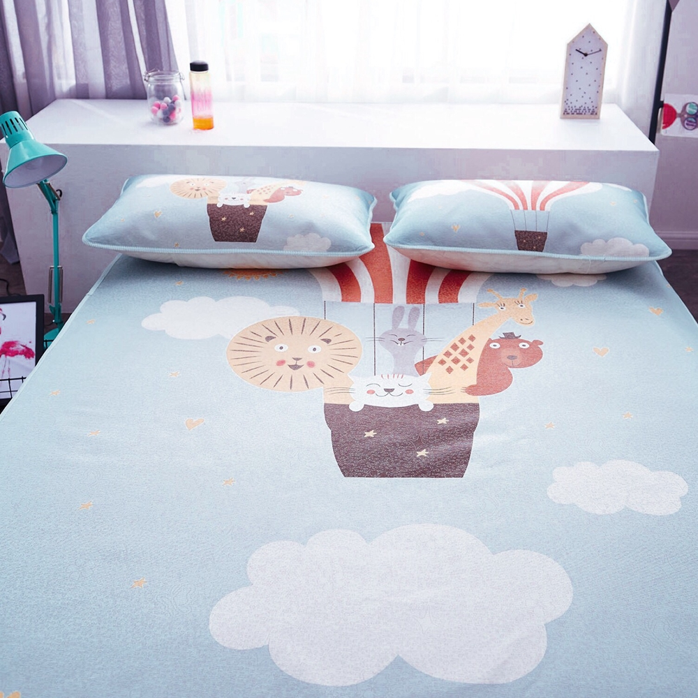 Floor mats to sleep on - Cartoon Animal Designer Summer Sleeping Mat Soft Polyester Bedding Pillowcases Cool 1 5m 1 8m