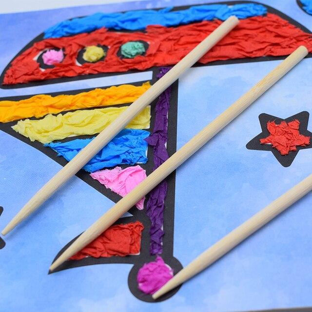 DIY zabawki rękodzielnicze dla dzieci przedszkole rękodzieło materiał filcowy papier ciasto ręczne sztuki zabawki dla dzieci prezent