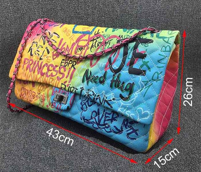 Rainbow Bag Large Handbags...