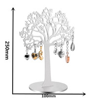 IJC001 Life of Tree Stainless Steel Artcraft 100mm*250mm Tree Home Craft Fashion Heavy Pendant Jewelry Craft Home Use Adornment