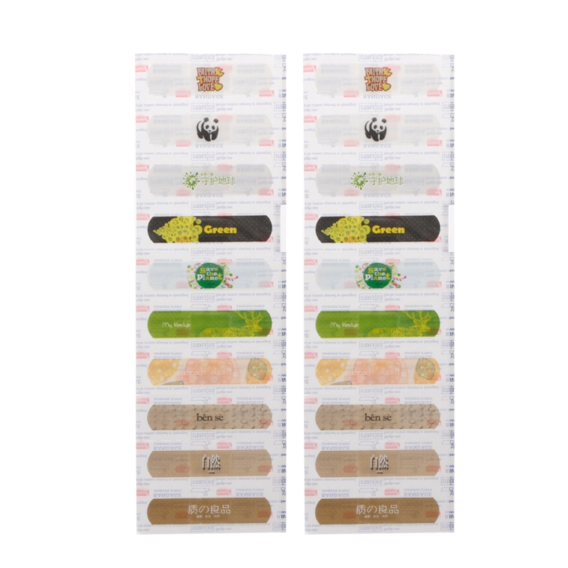 20Pcs Kids Cartoon Breathable Waterproof Band Aid Hemostasis Adhesive Bandages Aid Emergency Kit For Children Care