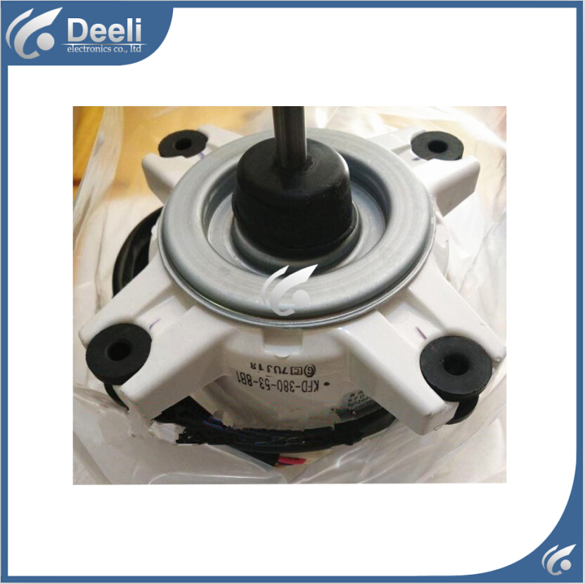 Free shipping new good working for inverter air conditioner outdoor machine motor KFD 380 53 8B1 RXD50CMVMC-in Air Conditioner Parts from Home Appliances    1