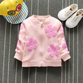 New Autumn Child Cute Outwear & Coat Baby Girls Sweatshirt Casual O-neck Coat Kid apparel Girl's Clothing