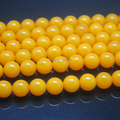 114 Pieces/Lot,Yellow news Round Ball, Yellow Beads,Size: 10mm