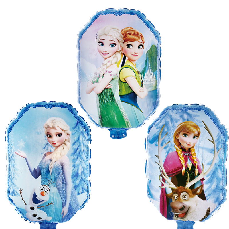 Elsa Anna Princess Balloons girl gifts Globos happy Birthday Party decorations Kids Toys Wedding party supplies Helium Ballon
