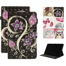 Stand PU Leather Case Cover For Funda Amazon Kindle Fire HD 10 2017 Flip Cover 10
