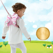 Toddler Baby Harness Walking Assistant Learning Walk Safety Belt Harness Walker Wings Kid Boy Girl Leashes