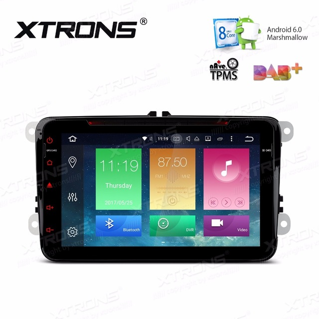 8&#8243; Octa-Core Android 6.0 Car DVD for Volkswagen Jetta 2005-2015 &#038; Tiguan 2007-2013 &#038; Polo 2009-2014 with <font><b>2GB</b></font> <font><b>RAM</b></font> 32GB ROM