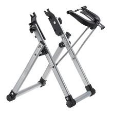 Soporte para rueda de bicicleta mecánica para el hogar, soporte para mantenimiento de rueda, herramienta de reparación de bicicletas