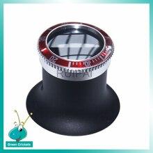 Высокое качество 20X часы Ремонт глаз износ Лупа ювелирные изделия Оптическое Стекло Лупа увеличительная линза часы инструмент