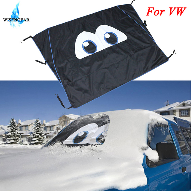 WISENGEAR Car Windshield Cover Anti Frost Snow Ice Rain Protector Magnetic Windscreen