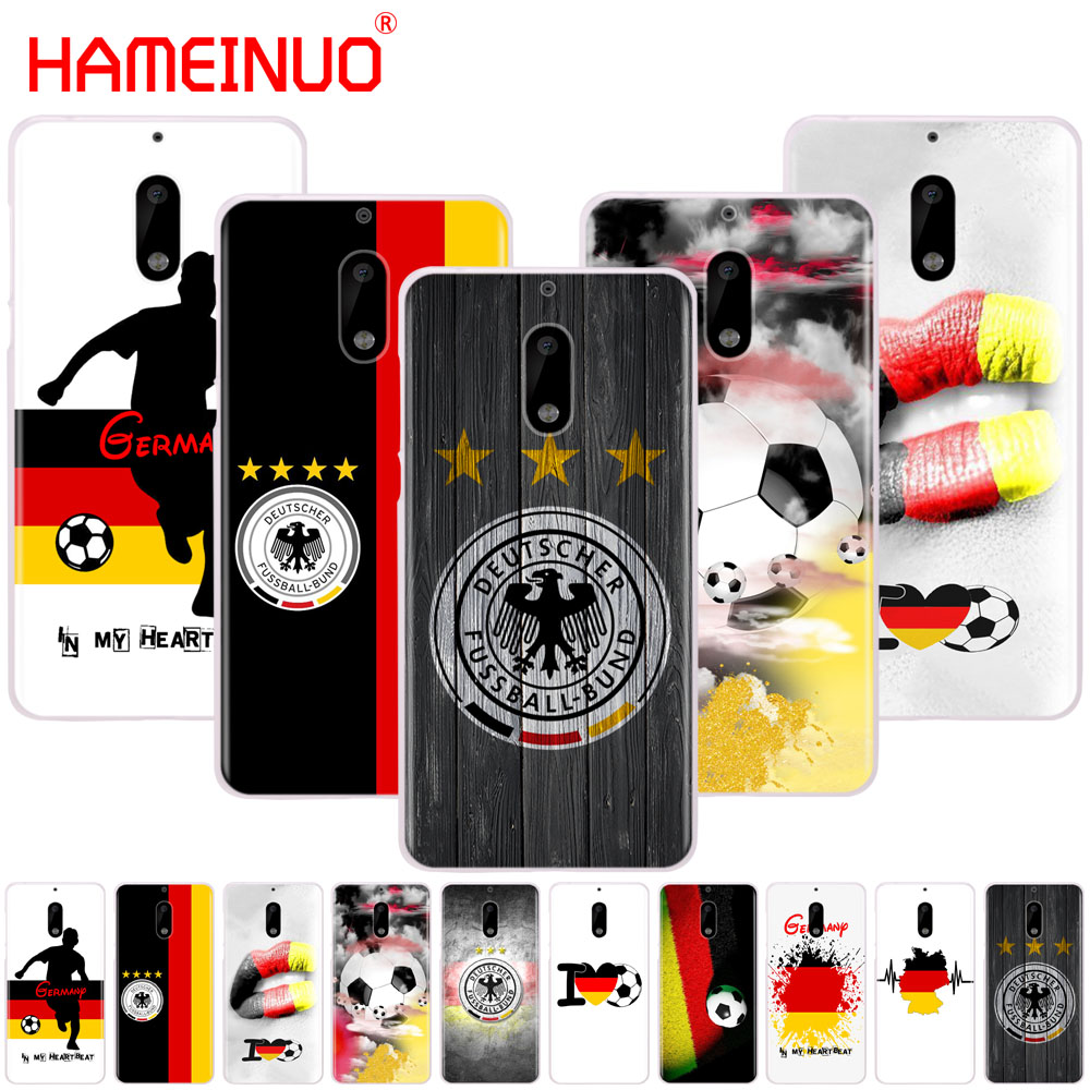 HAMEINUO Germany Soccer cover phone case for Nokia 9 8 7 6 5 3 Lumia 630 640 640XL 2018