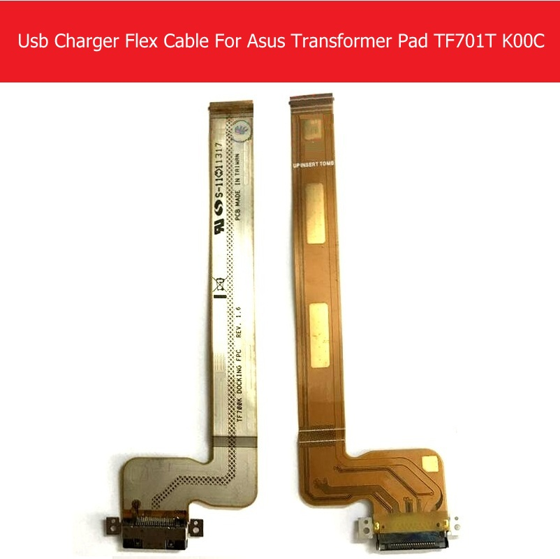 Sync Date Charging Port Flex Cable For Asus Transformer Pad Infinity TF700T TF700 TF700k-DOCKING-FPC USB Charger Connector Flex original usb charging dock charger port flex cable for iphone 7 high quality headphone audio jack connector flex cable